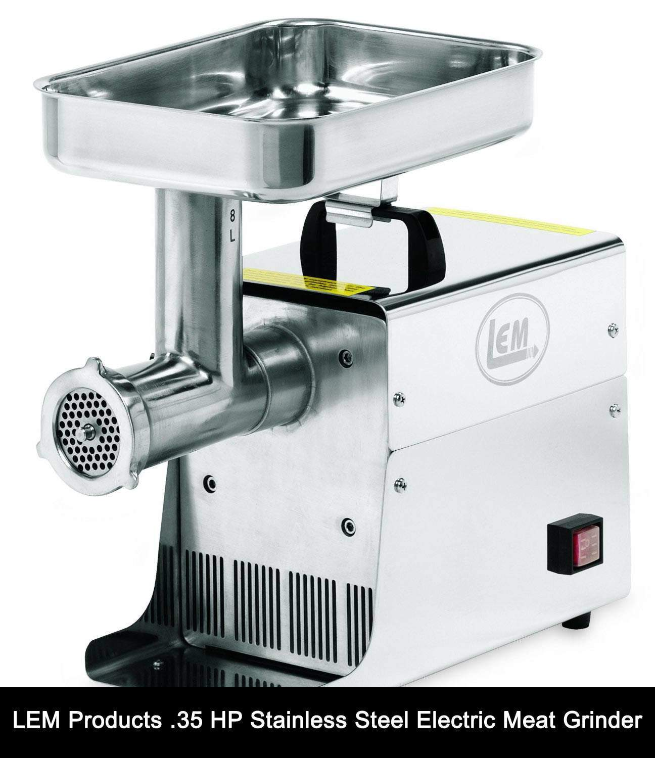 LEM Products .35 HP Stainless Steel Electric Meat Grinder review