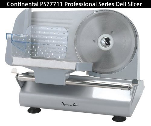 Continental PS77711 Professional Series Deli Slicers