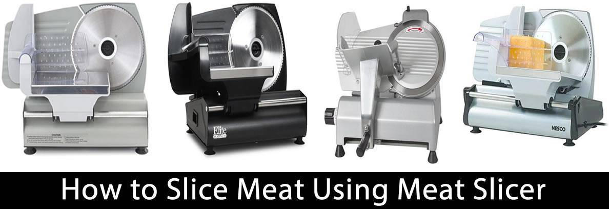 How to Slice Meat Using Meat Slicer